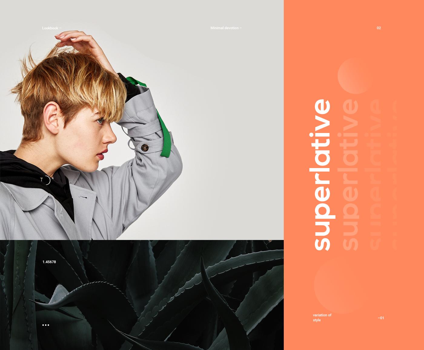 Playful Web Design & UI/UX for Superlative Store Concept