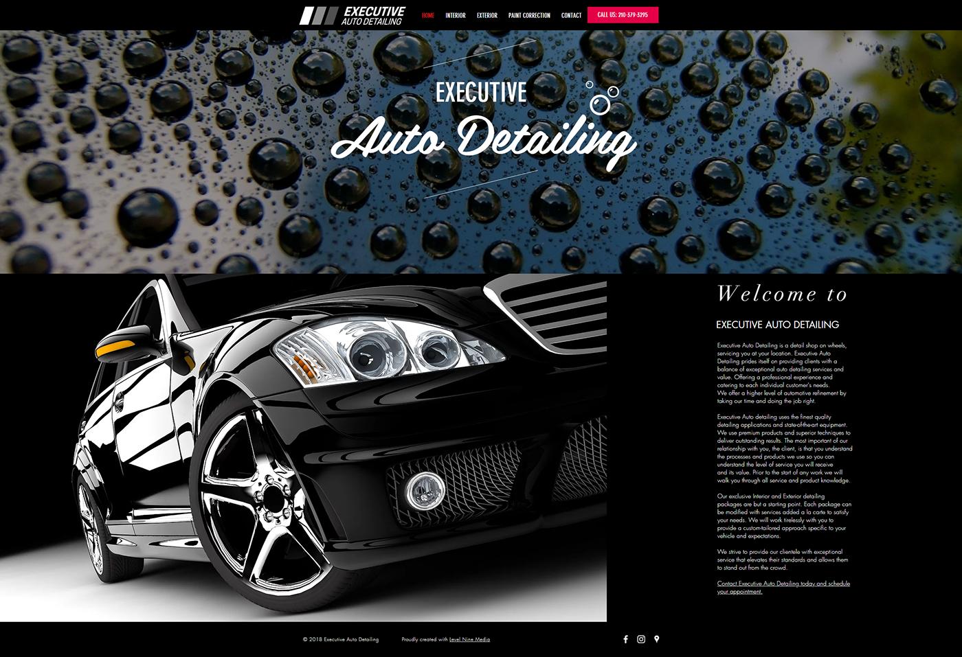Executive Auto Detailing San Antonio Tx On Behance