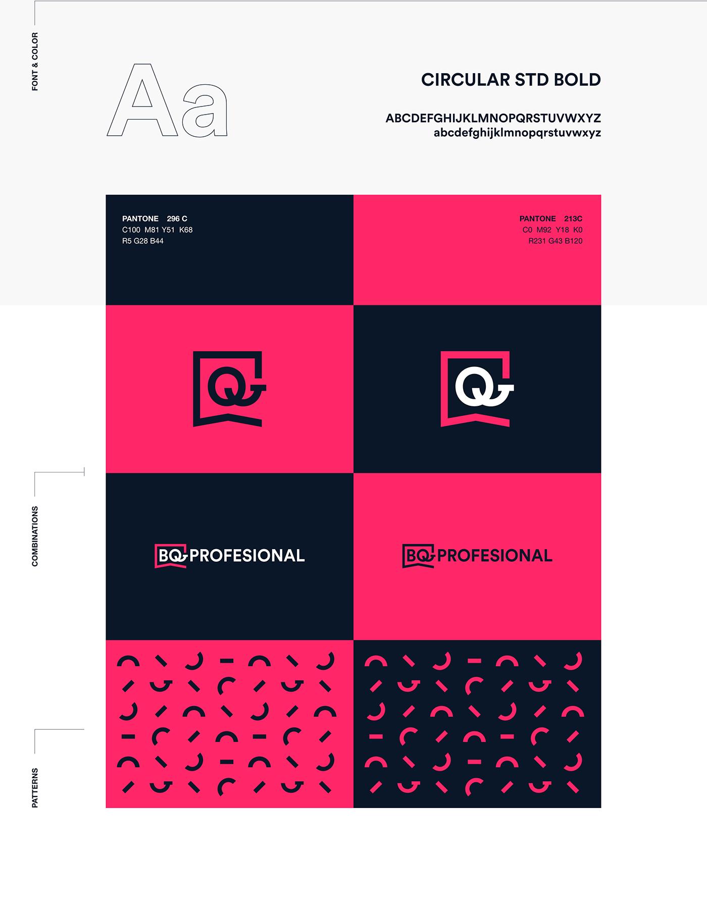 BQprofesional - Branding on Behance