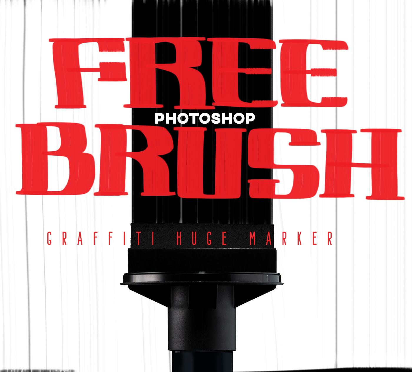 brush Calligraphy   font free Graffiti handwrite Marker psd rusto fat cap tag