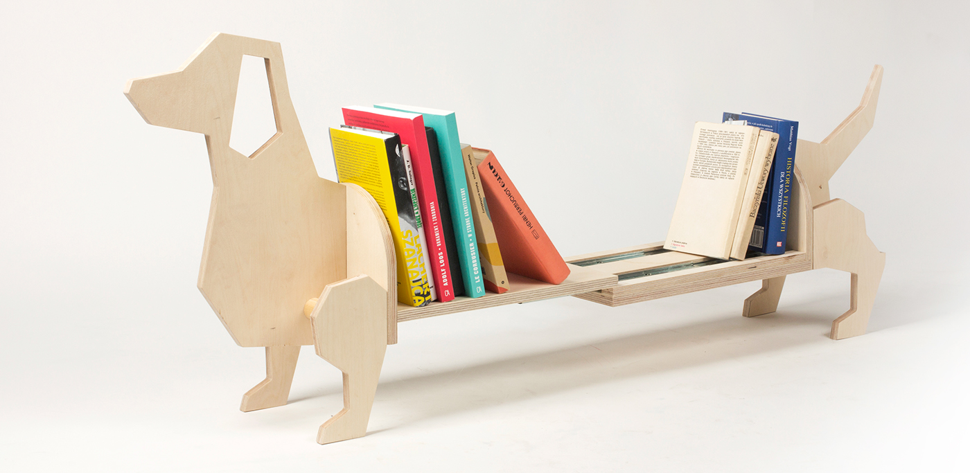 BOOKSHELF DACHSHUND Kids Furniture On Behance