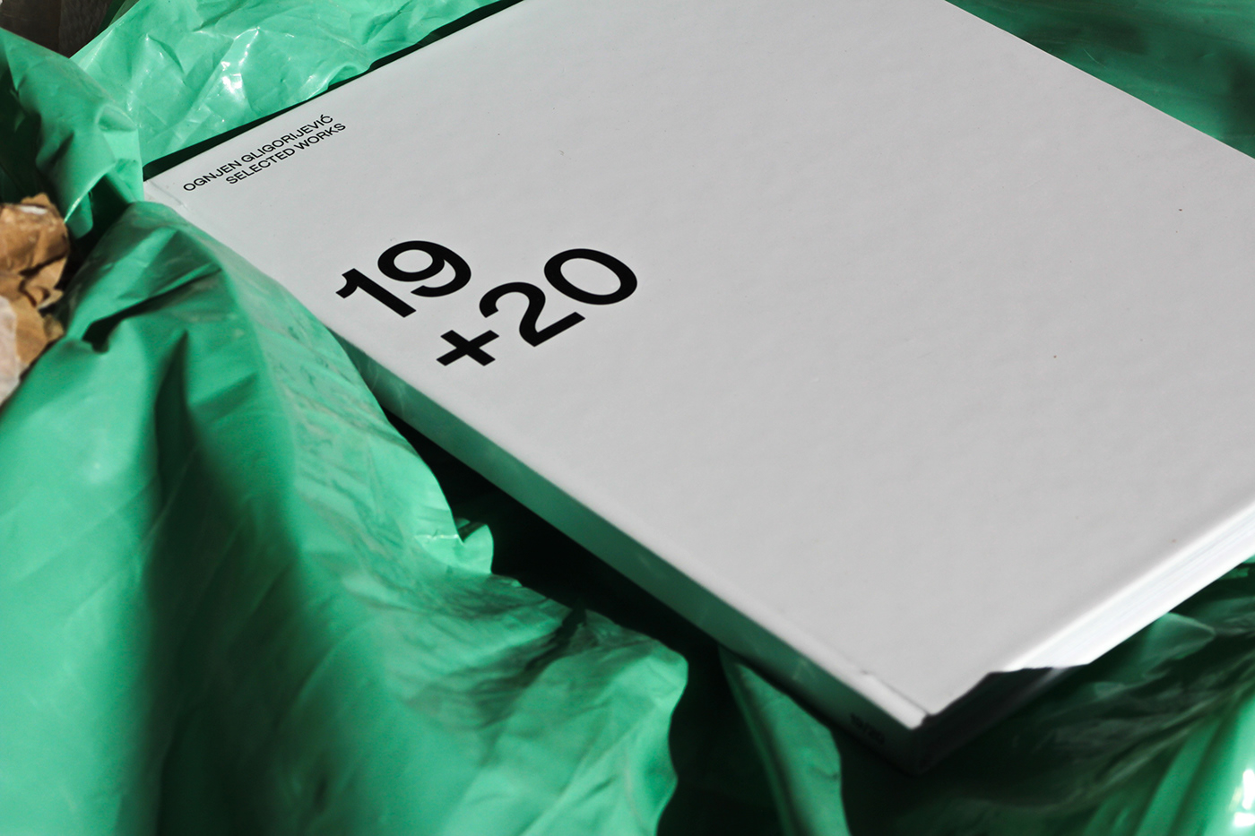 book design editorial experimental minimal type typography
