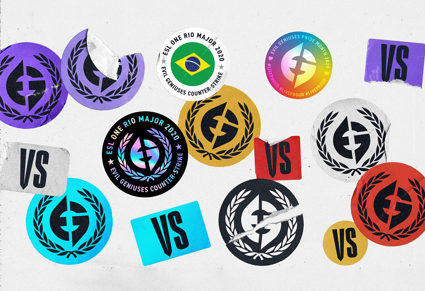 art direction ,branding ,Creative Direction ,EG,esports,Evil Geniuses,Gamer,Gaming,identity,Project