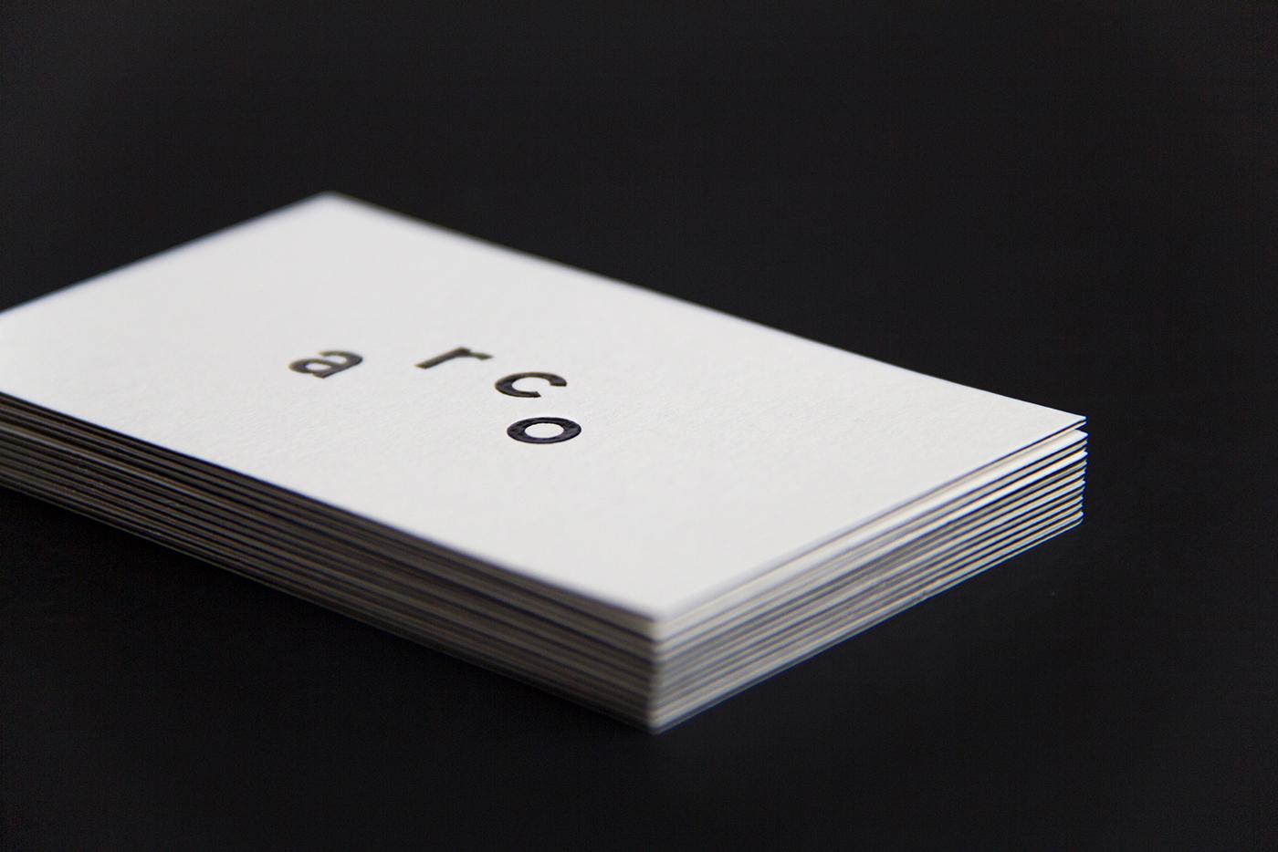 typography   Multidisciplinary branding  editorial logo identity estúdio arco motion graphics  black white minimalist