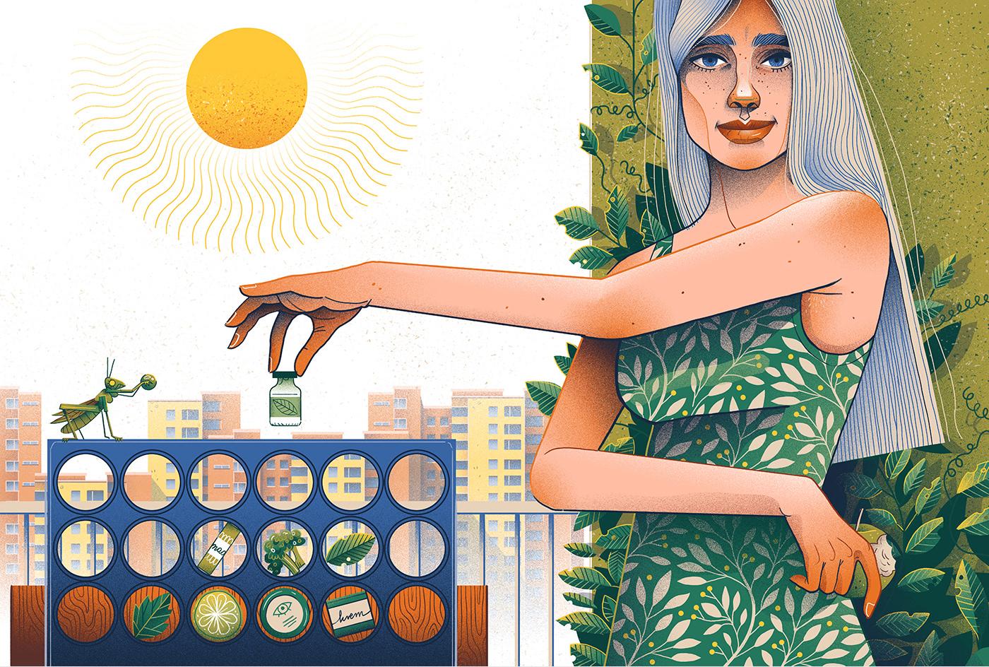Image may contain: cartoon, woman and drawing