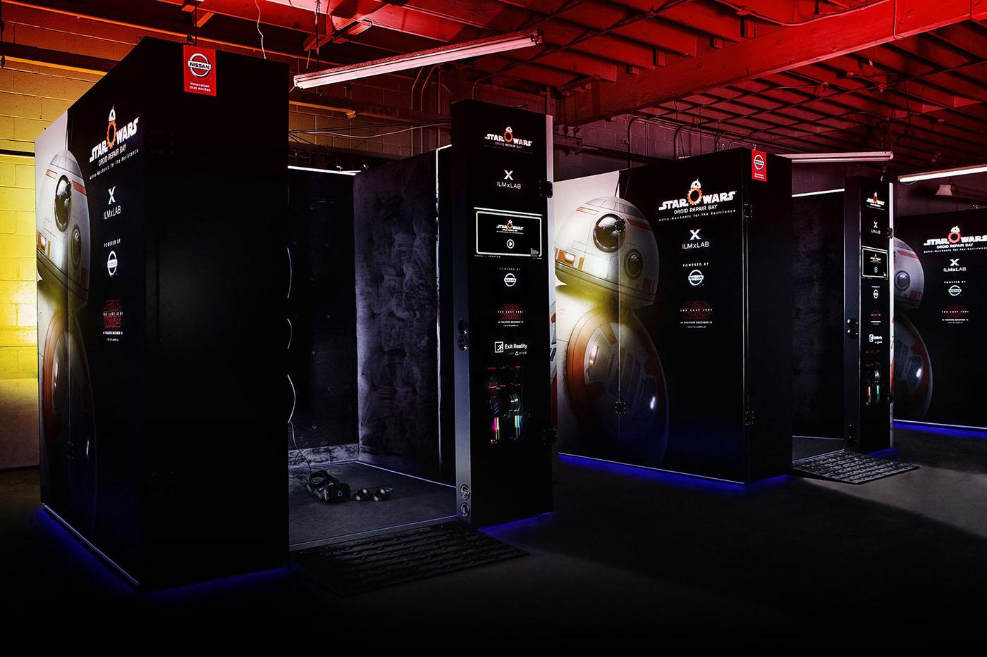 3D AR disney Gaming iMAX star wars Startup vr