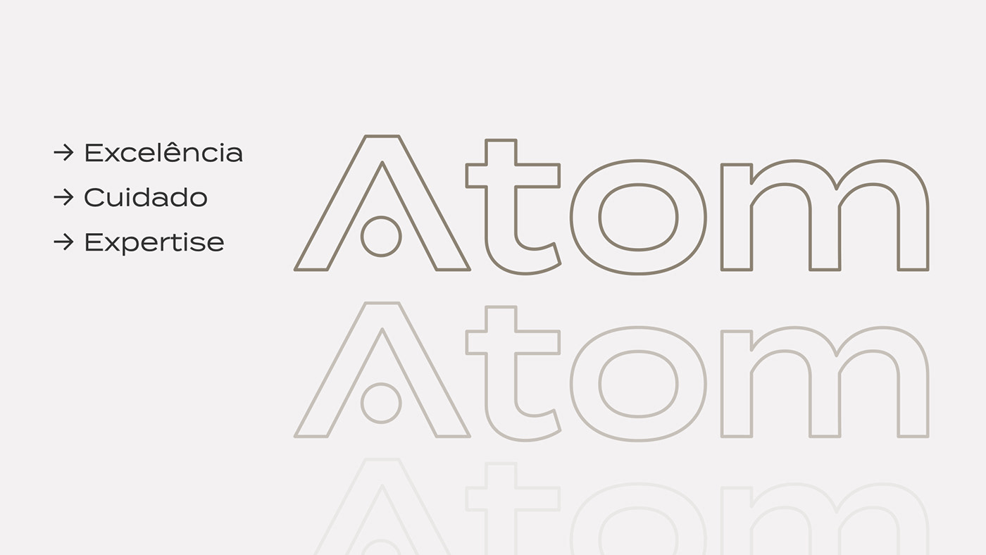 atom branding  Health radioactive visual identity Web