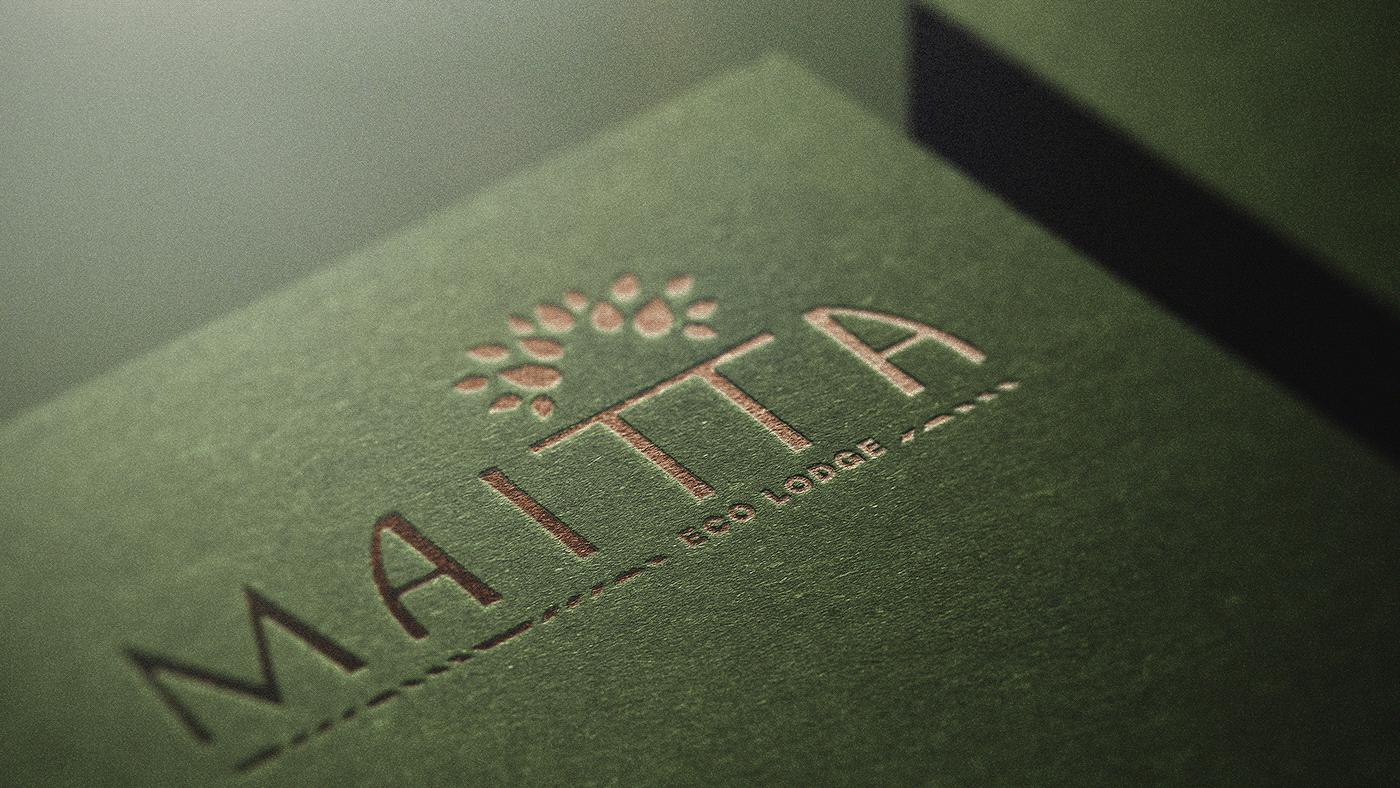 brand DUNK eco hotel ID lodge logo Nature type