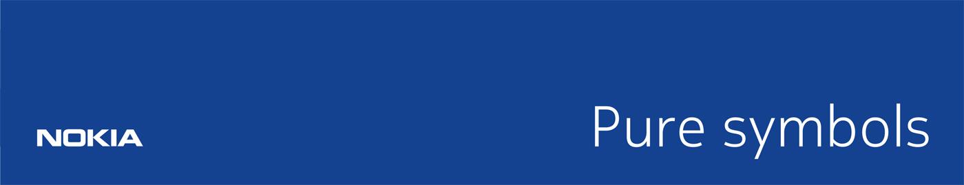 Nokia Pure Symbols on Behance