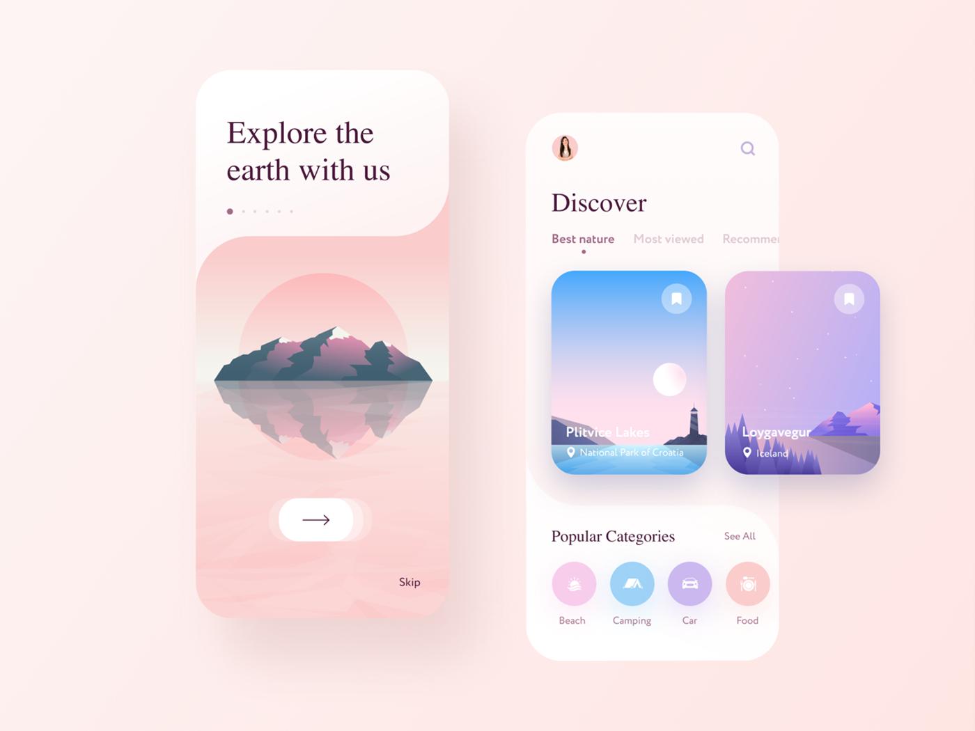 app design Travel App