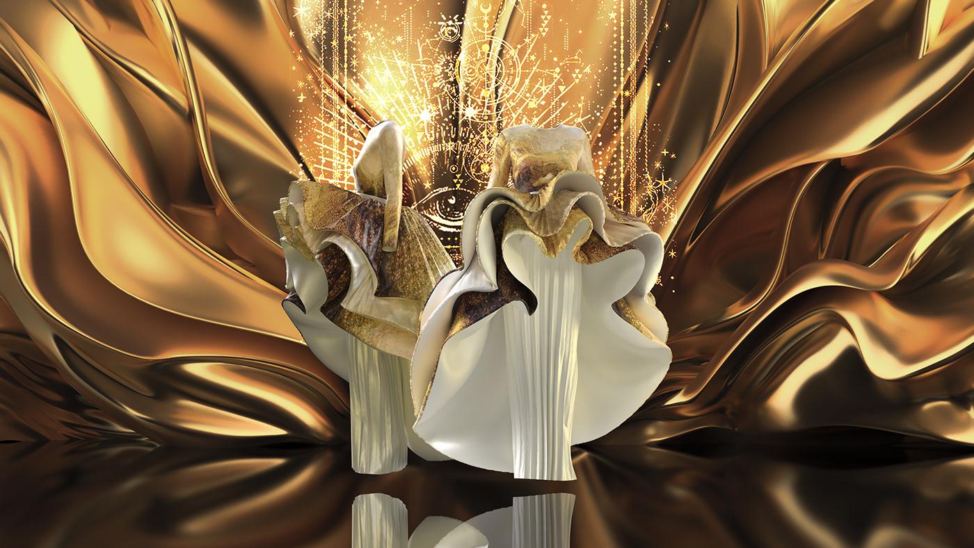 #3dfashion #digitalfashion #Fashion3D #fashiondesign #fashiondigital #fashionwork #gold #tarot #virtualfashion