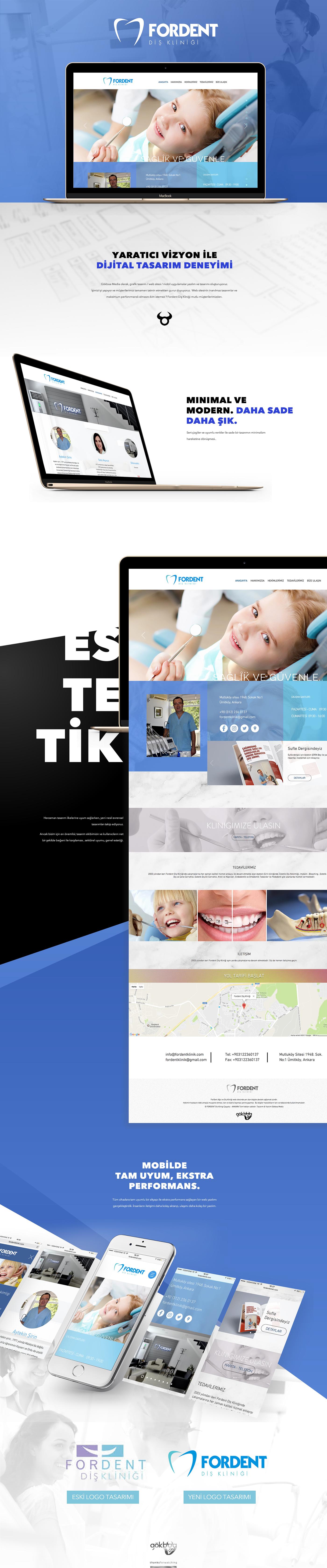 Web Design  dent logo dent web design graphic design  dentist web dental web Dental Logo logo blue web web tasarım