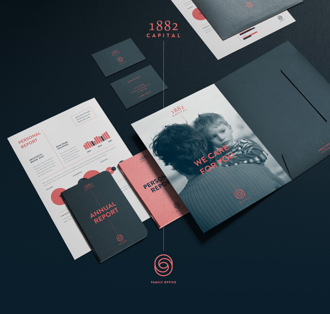 brand corporate indetity corporate indentity logo direction creative