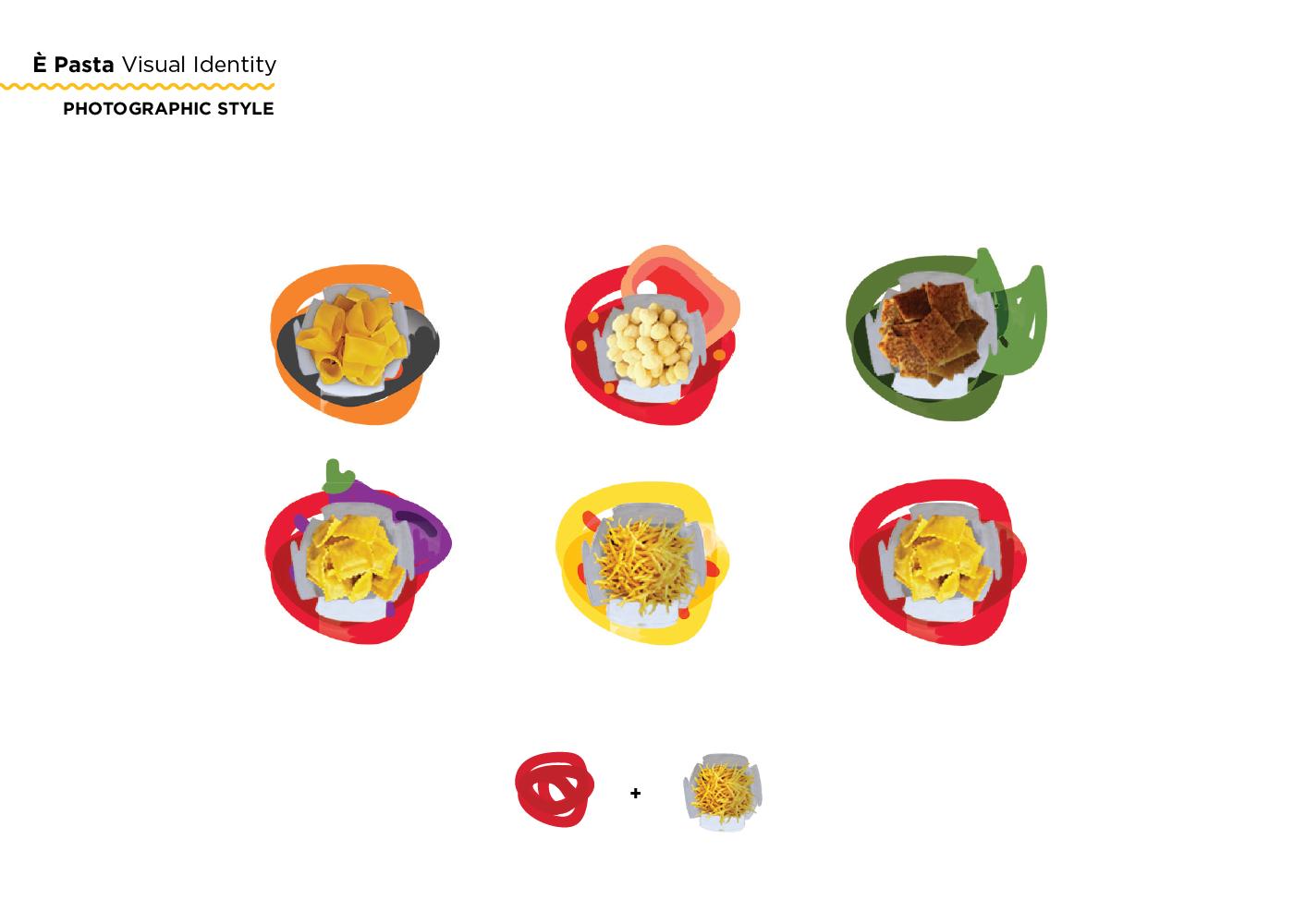 branding  brand identity Logo Design design graphic design  Pasta Food  Street Food