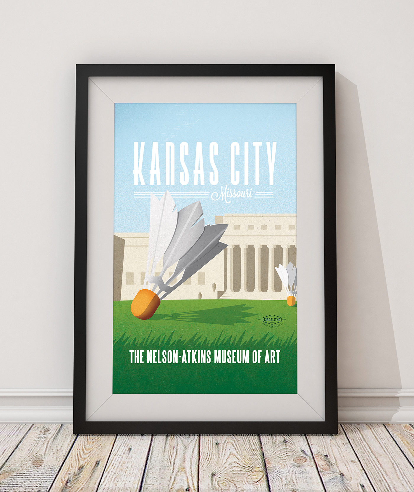 kansas city Kauffman Center Nelson Art Gallery the plaza Kansas City Chiefs Kansas CityRoyals Royals Union Station lithograph art print poster fine art art vintage print