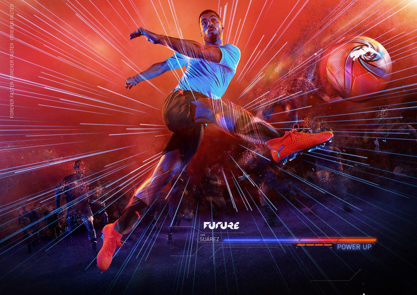 anime cinema4d football Gaming puma Render soccer sport videogame visualfx
