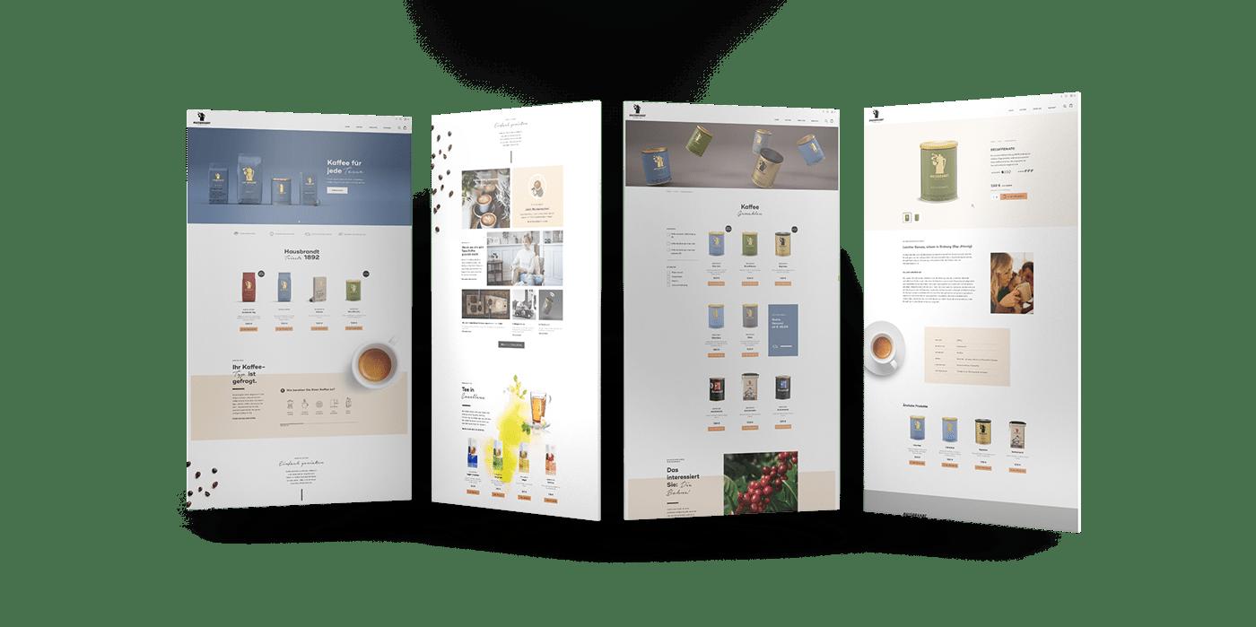 Ecommerce Kaffee Onlineshop