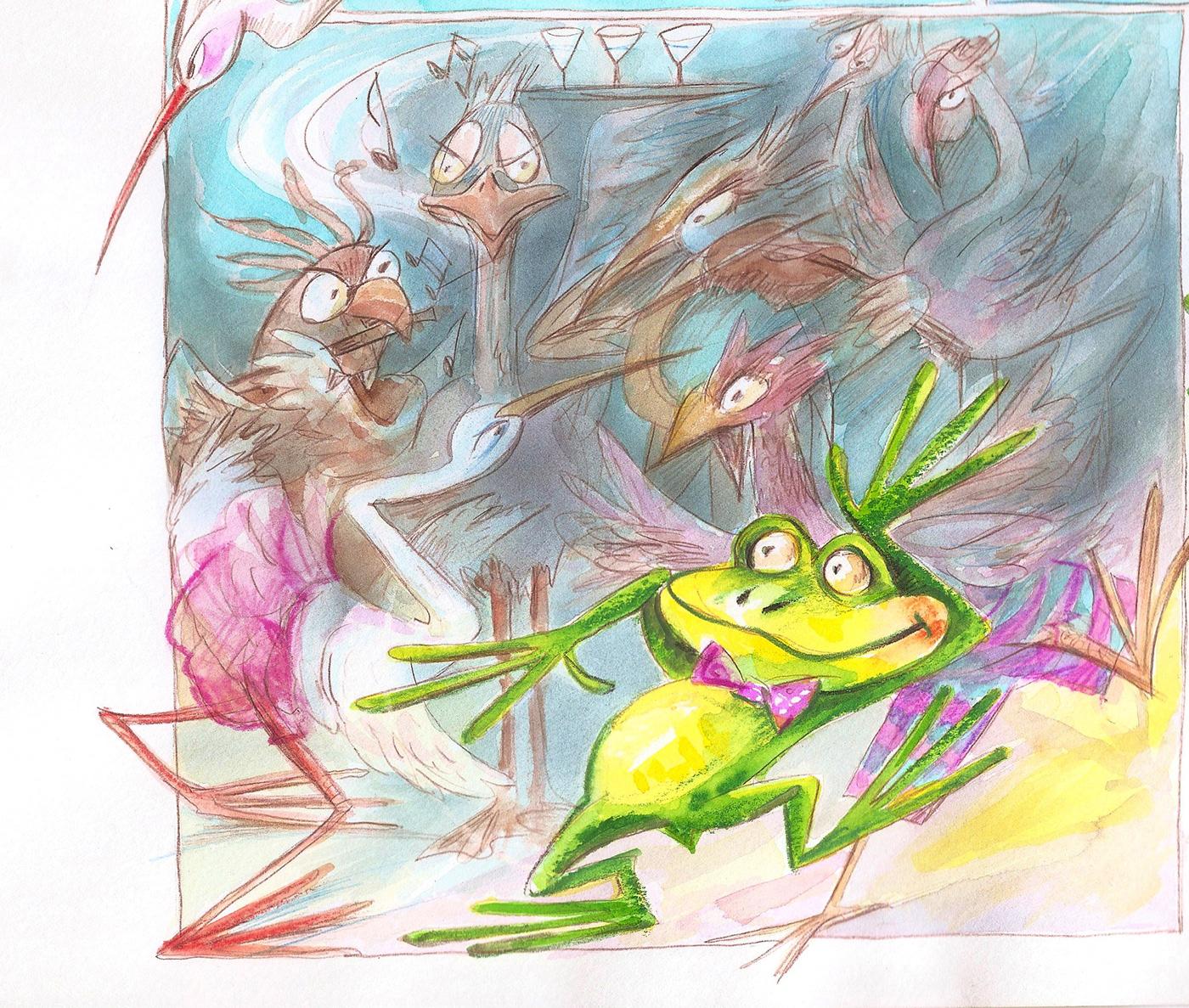 children's ILLUSTRATION  digital book illustration children's illustration ilustrarte