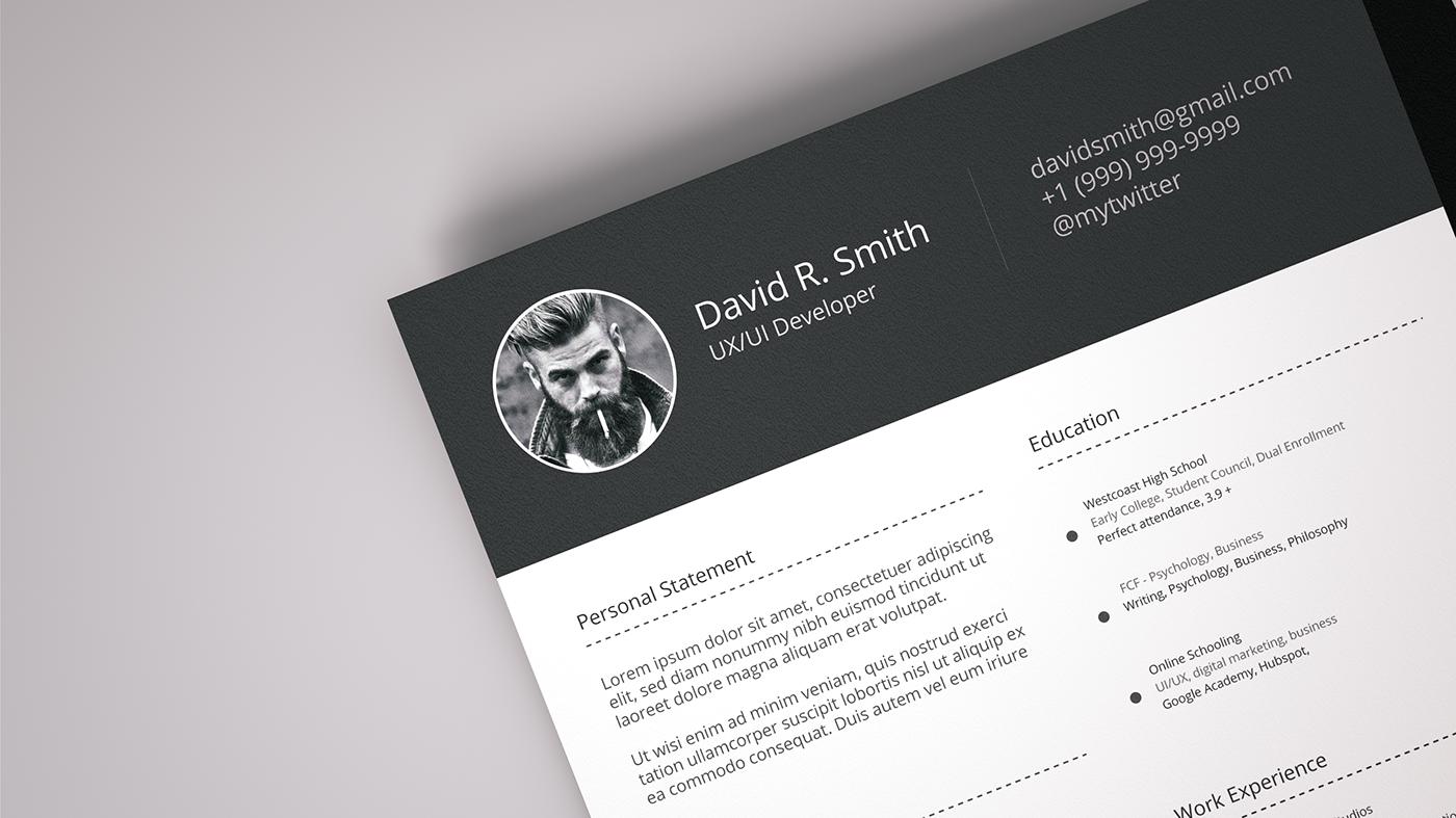 resume template Free Resume Free Download Template ai resume clean resume resume download Resume free resume template download resume