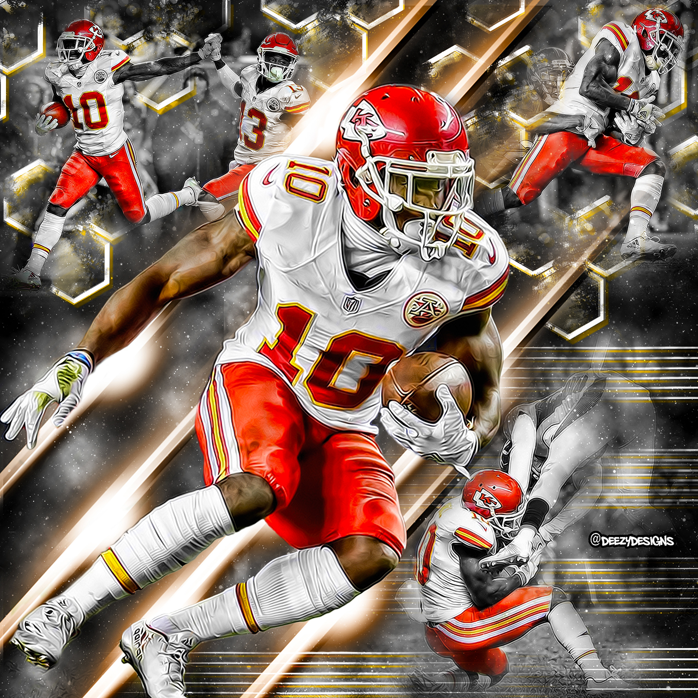 Tyreek Hill on Behance