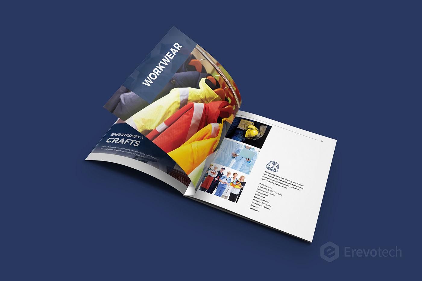 brochure design by kabeerkhan