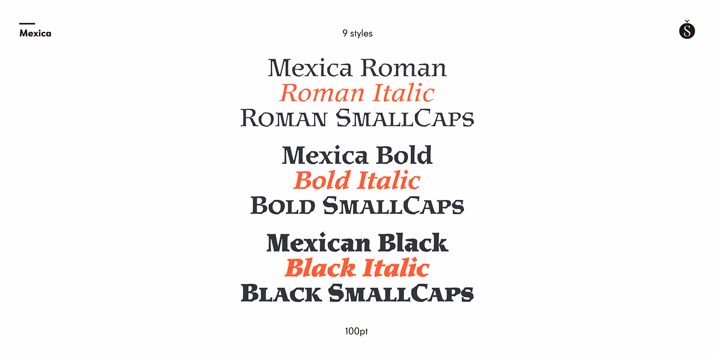 mexico typography   font sudtipos Meave graphic design  type design
