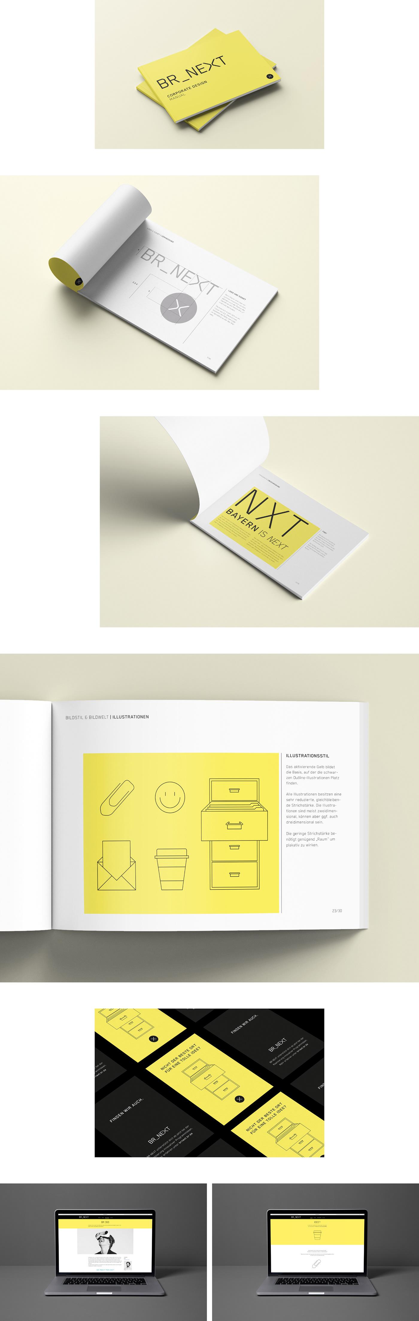 logo logodesign design Screendesign bayerischer rundfunk br Layout print München munich germany german