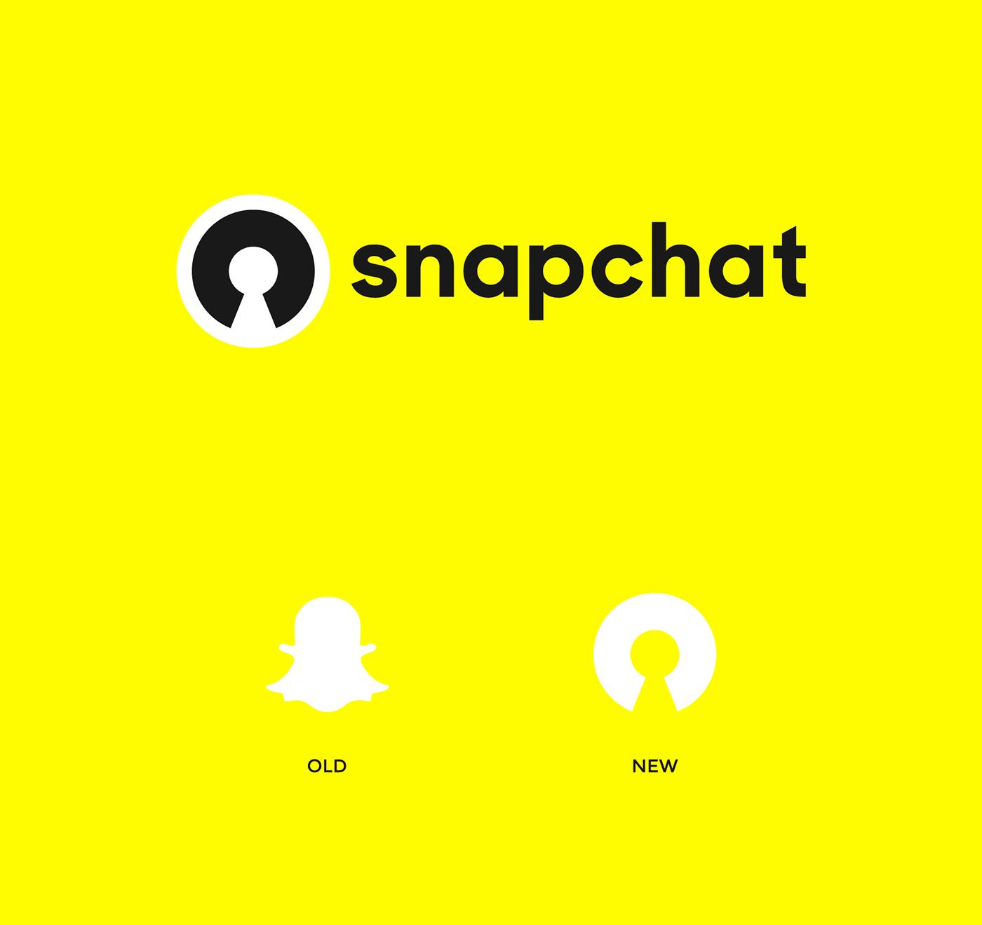 snapchat icon set ILLUSTRATION  motion graphic app redesign Logo Design branding  Brand Design Interaction design  inspire