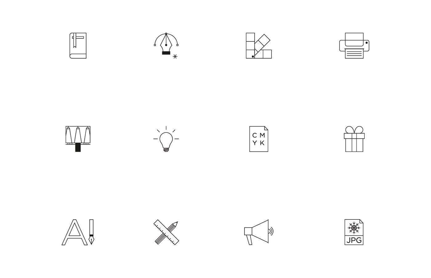 有創意感的36張月曆設計欣賞