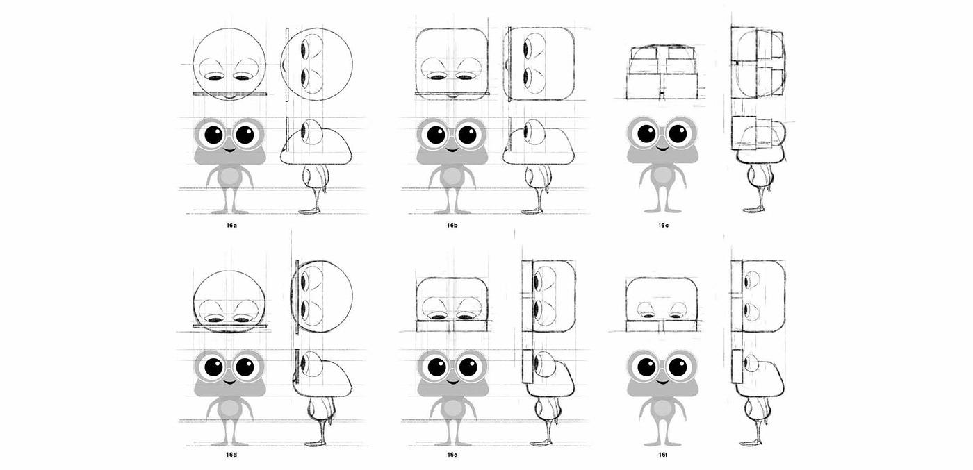 Chatbot ai 3D Character design  concept ILLUSTRATION  animation  app interactive art