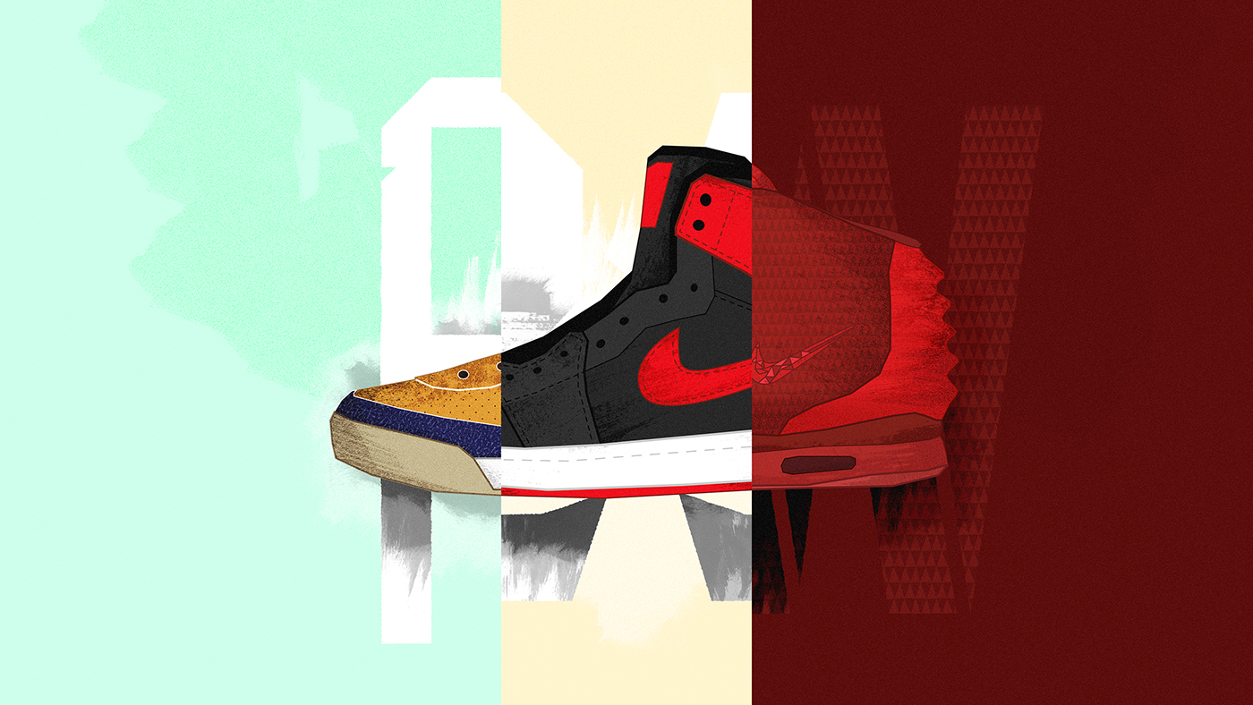 c7741d8991b5d Sneaker Coolture (Weekly Project  053) on Behance