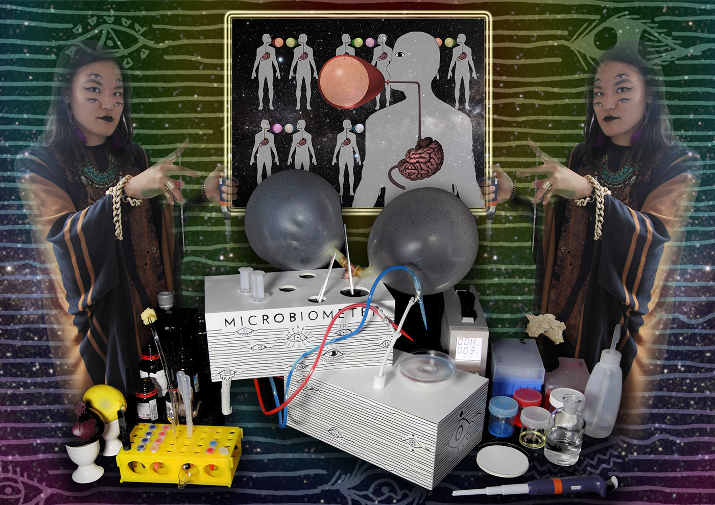 Synthetic bioloby Synbio microbiomes shamanism ritual biology Biodesign contestable design bio tech