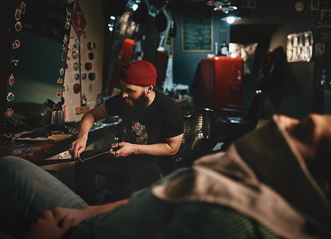 nikon D810 barbershop chop-chop cinematic