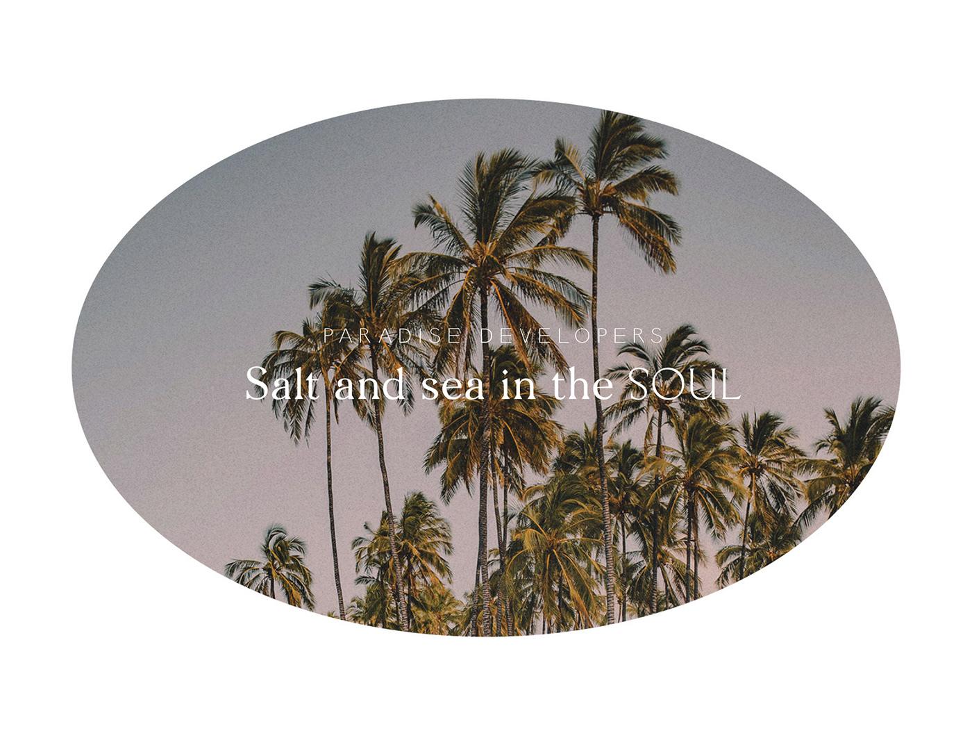 tulum beach logo real estate luxury cancun mexico branding  naming hotel