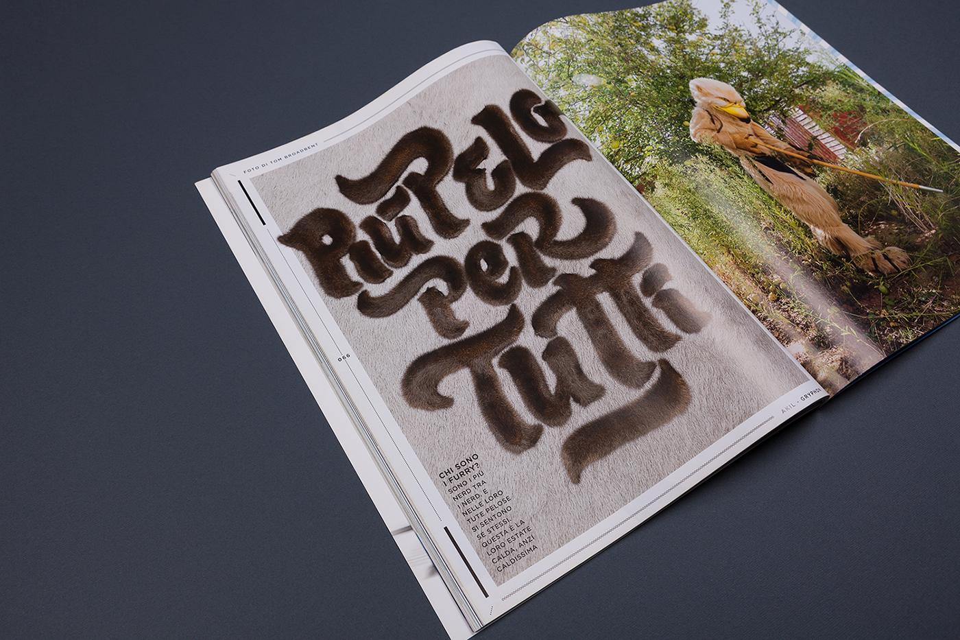 Design Per Tutti Com più pelo per tutti | wired italy on behance