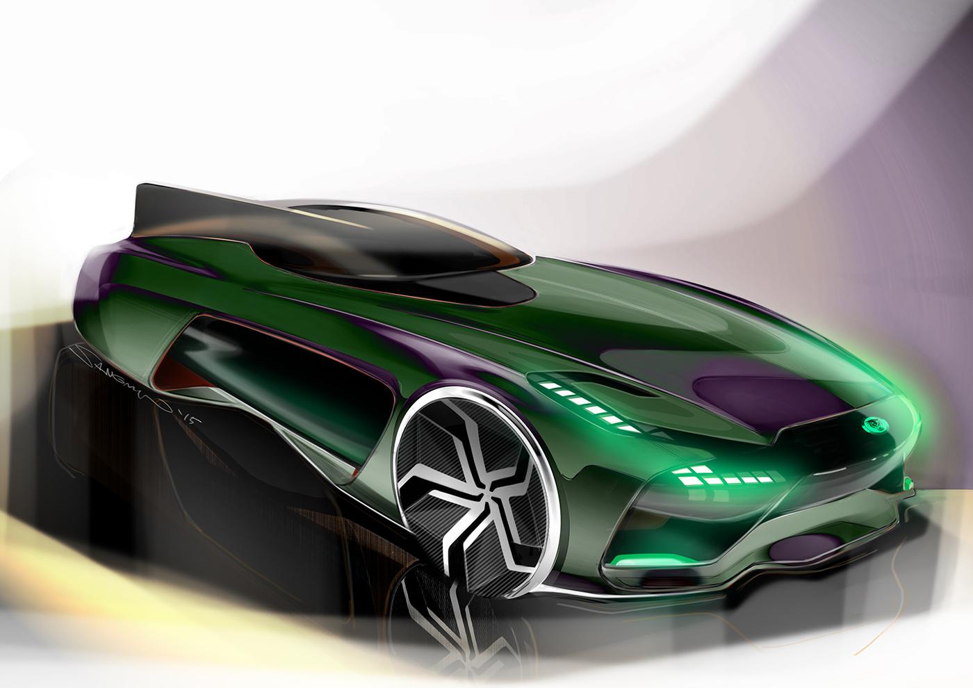 2025 jaguar 2 seater sports car on behance. Black Bedroom Furniture Sets. Home Design Ideas