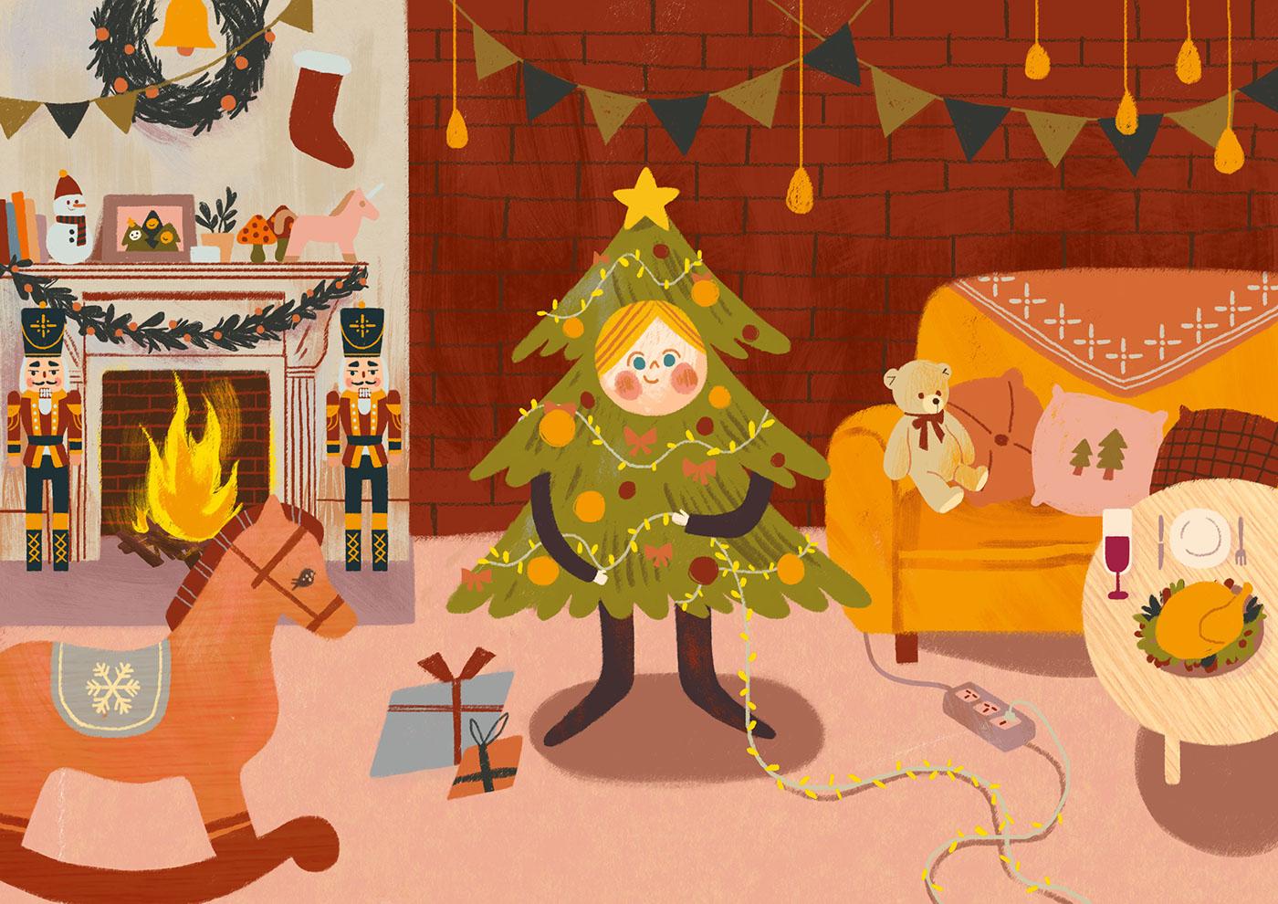 有美感的15套聖誕節圖畫欣賞