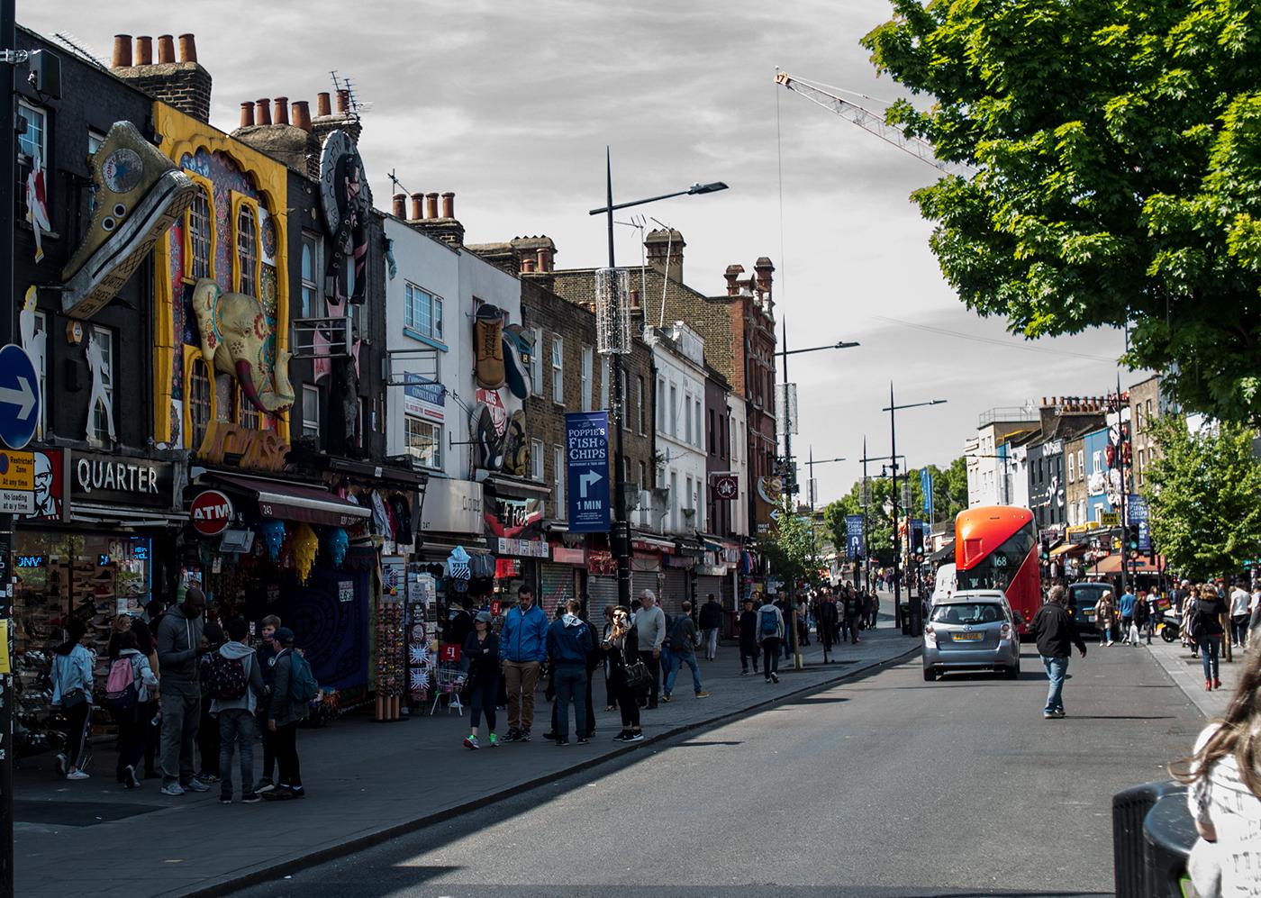 Camden High Street.