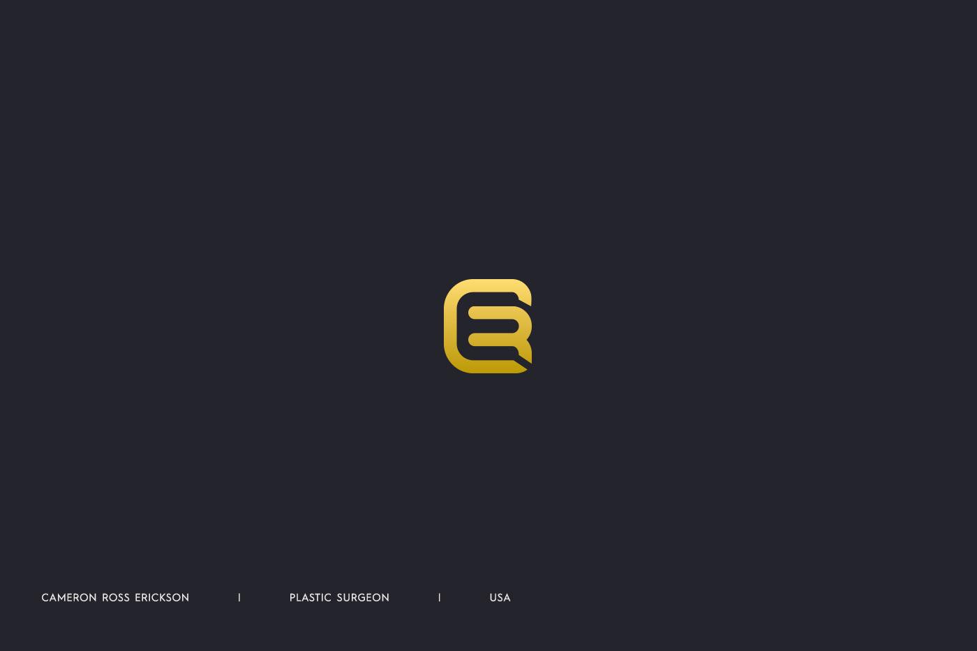 letter monogram negativespace simple minimal samadaraginige samadara logo design clever