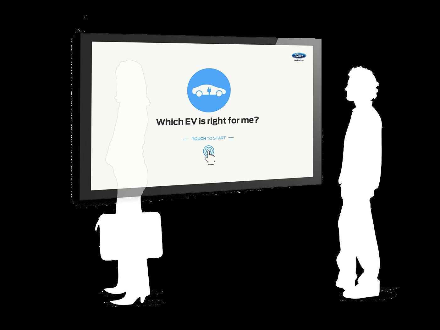 touchscreen application
