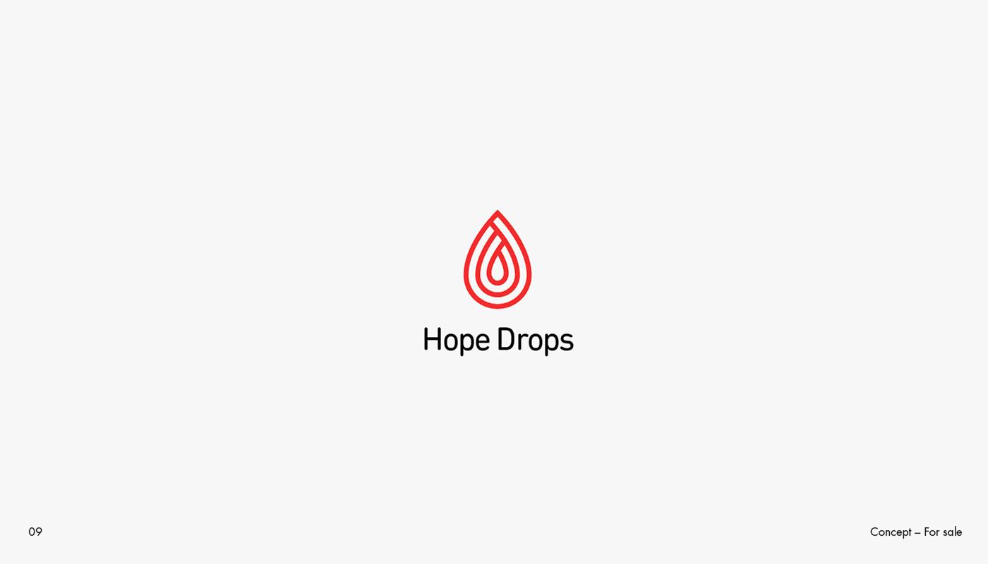logo design marks Collection aqua blood flag shield Audio Love