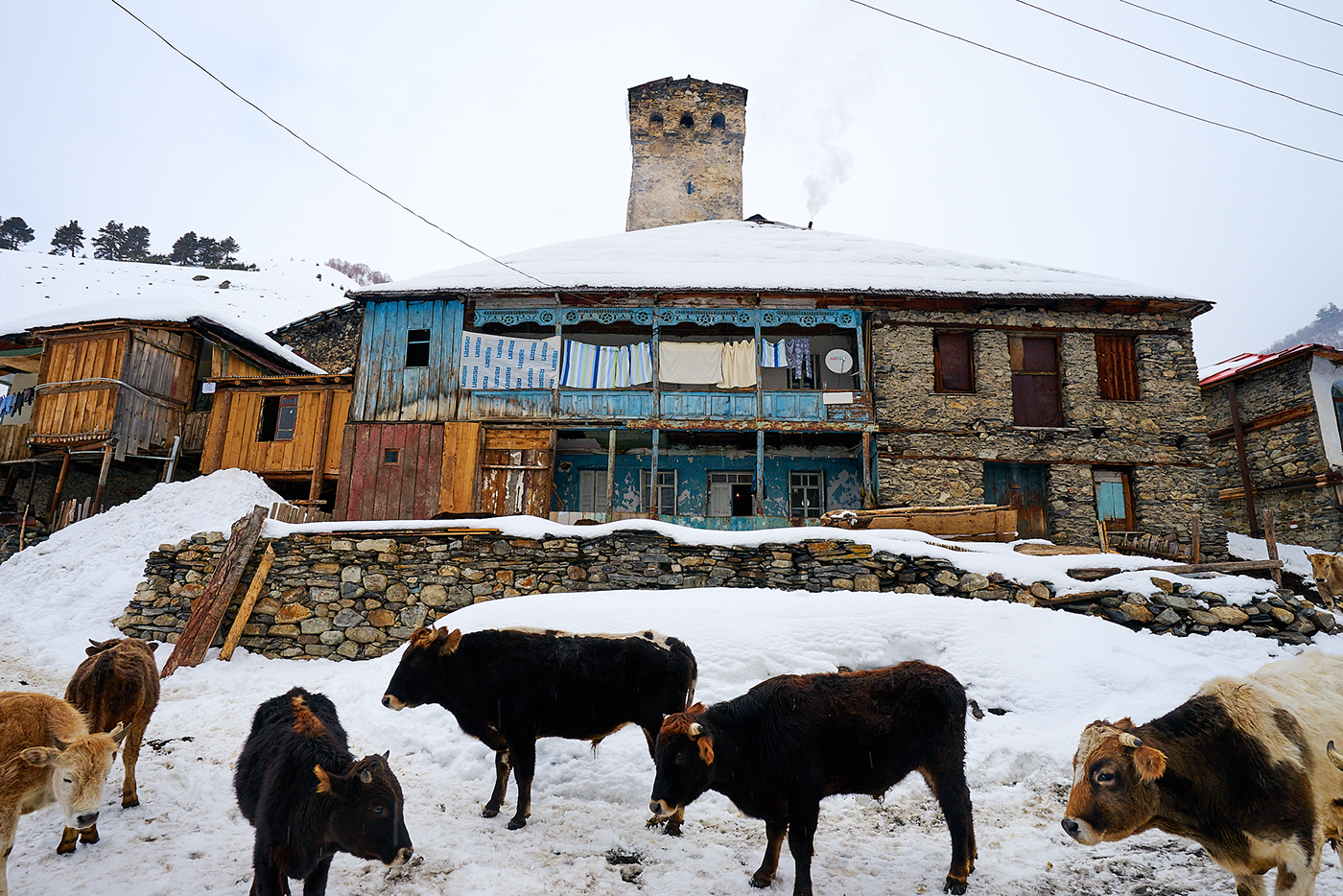 svaneti Georgia Travel lifestyle exploration adventure Ski snow mestia ushguli