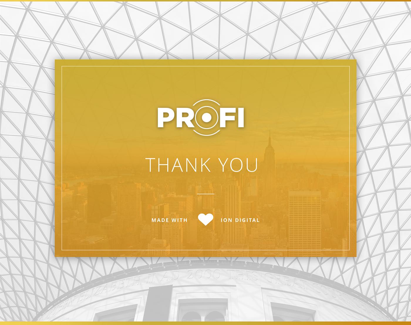 Theme Multipurpose Profi corporate HTML template portfolio wordpress professional business