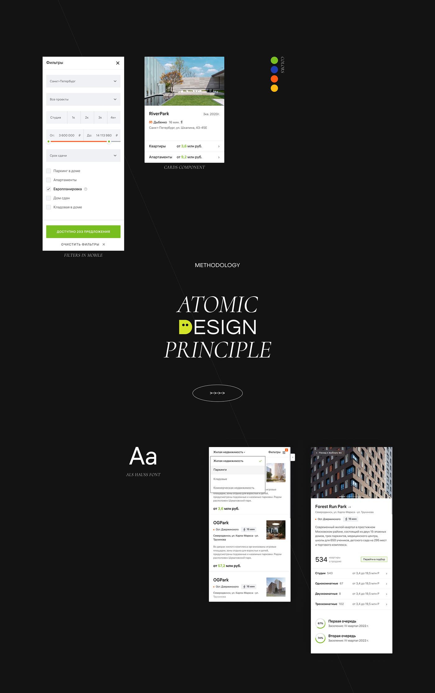 Atomic design principle