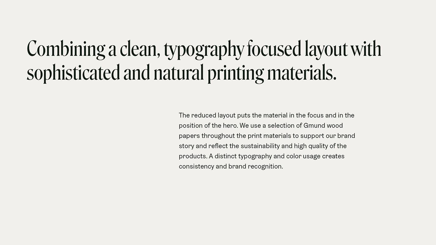 branding  Carpentry Corporate Design furniture interior design  natural print finishing stationary Sustainable wood