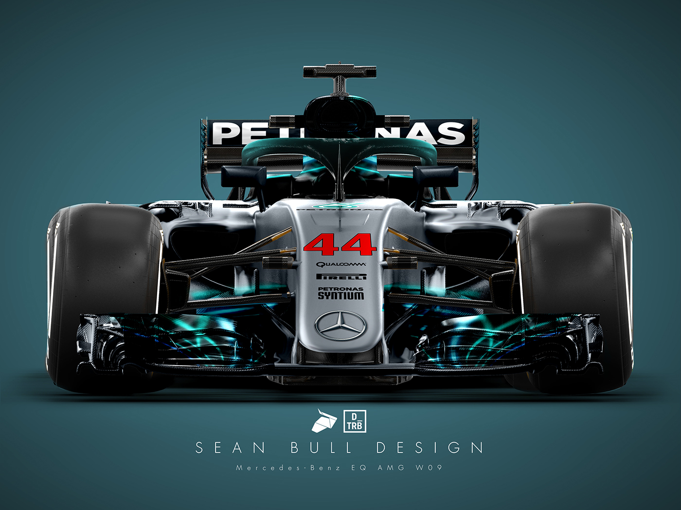 Mercedes Of Warwick >> Mercedes WO9 2018 Livery Concept: Drivetribe on Behance
