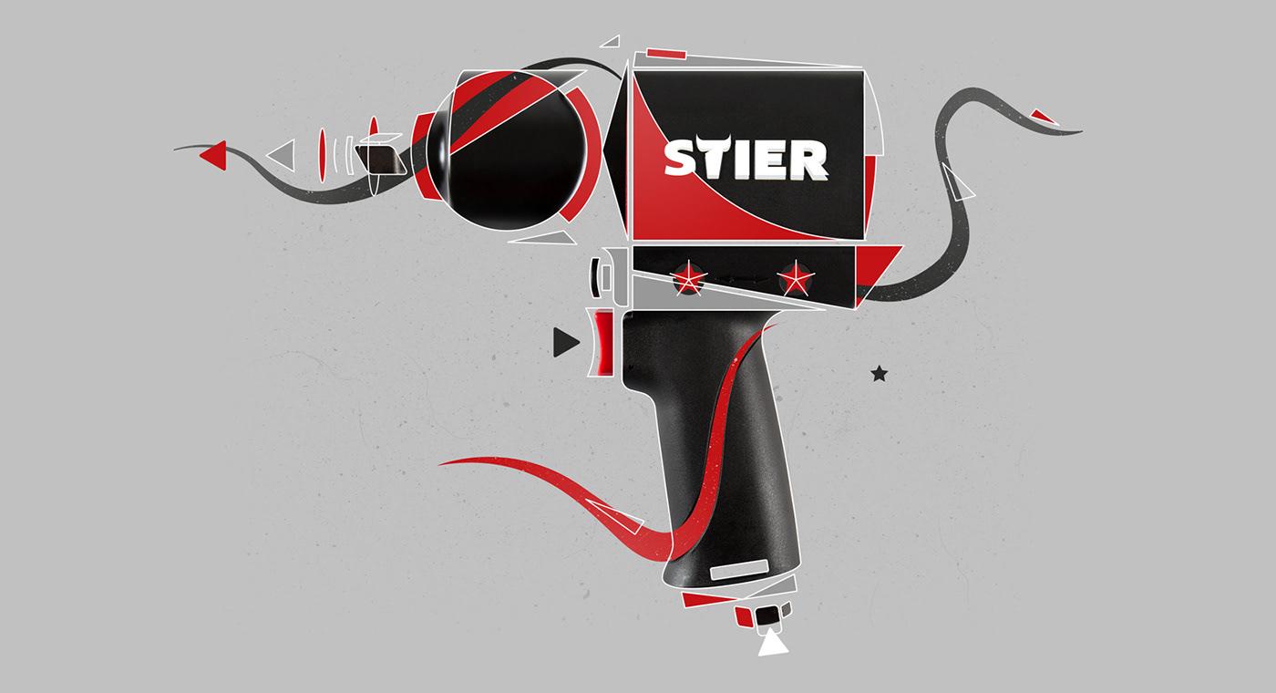 stier industrial craft tools werkzeug handwerk worker Aerosole Spraycan technical lovebrand