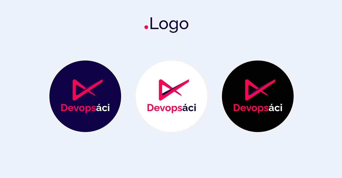 Czech devops ILLUSTRATION  logo logomanual visual identity
