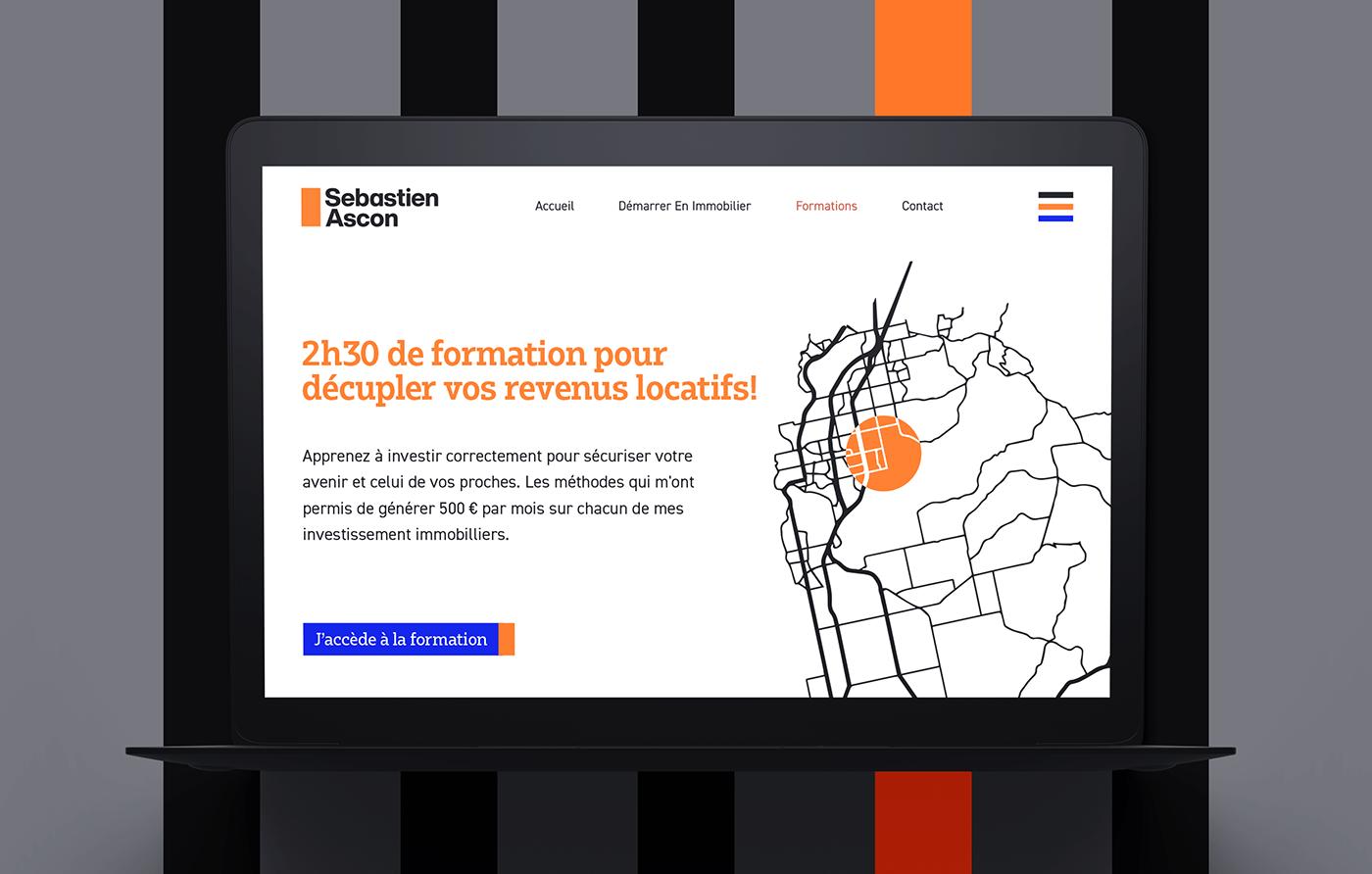 sebastien ascon website prototype