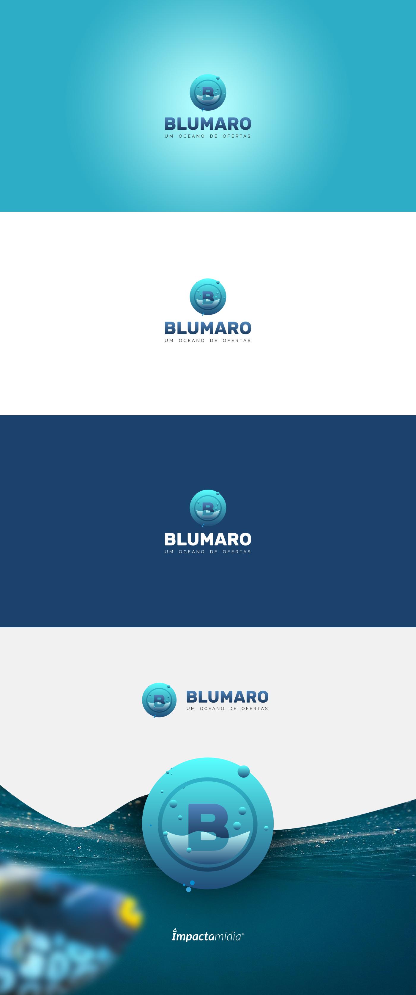 logo Logo Design underwater water blue green blumaro graphic graphic logo